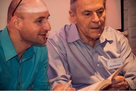 Stanislav Grof és Gánti Bence